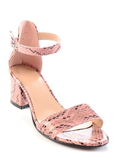 Bambi Topuklu Ayakkabı Pembe